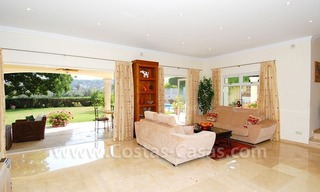 Frontline golf luxury villa for sale in Nueva Andalucia - Marbella 10