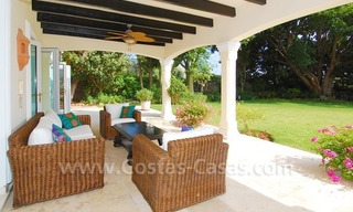 Frontline golf luxury villa for sale in Nueva Andalucia - Marbella 5