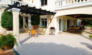 Frontline golf luxury villa for sale in Nueva Andalucia - Marbella 4