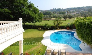 Frontline golf luxury villa for sale in Nueva Andalucia - Marbella 23