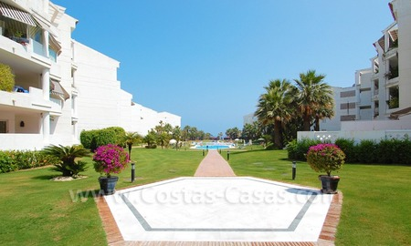 Beachfront apartment for sale in Puerto Banús – Marbella 5