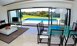 Contemporary luxury New Frontline Golf Villas for sale, Marbella - Benahavis 19