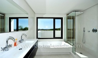 Contemporary luxury New Frontline Golf Villas for sale, Marbella - Benahavis 15