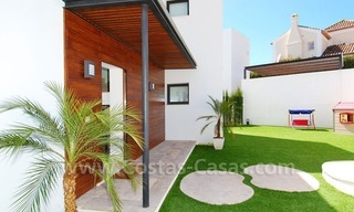 Contemporary luxury New Frontline Golf Villas for sale, Marbella - Benahavis 5