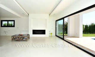 Contemporary luxury New Frontline Golf Villas for sale, Marbella - Benahavis 16