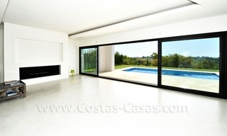 Contemporary luxury New Frontline Golf Villas for sale, Marbella - Benahavis 17