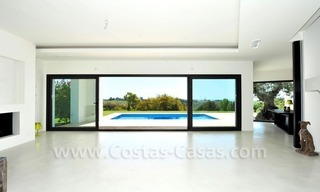 Contemporary luxury New Frontline Golf Villas for sale, Marbella - Benahavis 18