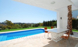 Contemporary luxury New Frontline Golf Villas for sale, Marbella - Benahavis 7