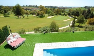Contemporary luxury New Frontline Golf Villas for sale, Marbella - Benahavis 4