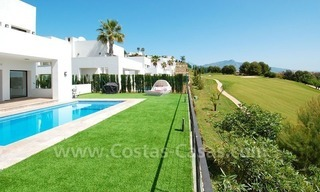 Contemporary luxury New Frontline Golf Villas for sale, Marbella - Benahavis 3