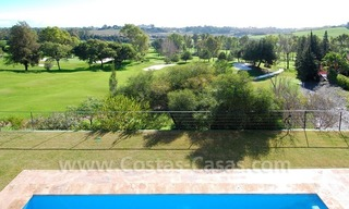 Contemporary luxury New Frontline Golf Villas for sale, Marbella - Benahavis 11