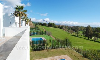 Contemporary luxury New Frontline Golf Villas for sale, Marbella - Benahavis 13