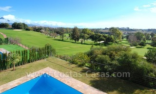 Contemporary luxury New Frontline Golf Villas for sale, Marbella - Benahavis 12