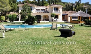 Luxury superb villa for sale on frontline golf in Marbella West – Estepona 9