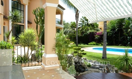 Unique front line golf andalusian styled villa to buy in Nueva Andalucía, Marbella 2