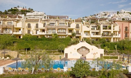 Bargain golf penthouse apartment for sale in the area of Marbella – Benahavis 5