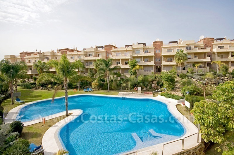 Luxury penthouse apartment for sale in Estepona near Marbella 1