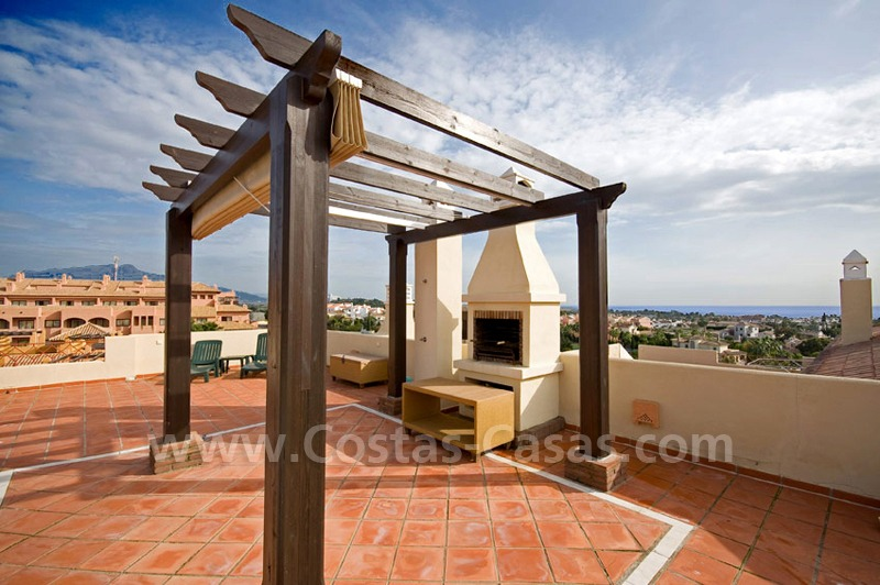 Luxury penthouse apartment for sale in Estepona near Marbella 0