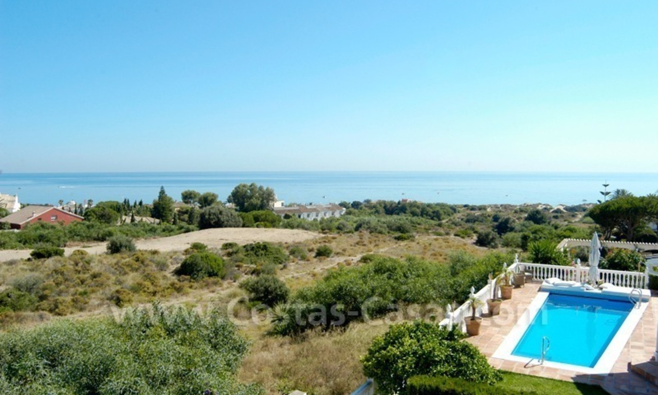 Spanish style beachside villa for sale in Eastern Marbella 0