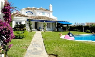 Spanish style beachside villa for sale in Eastern Marbella 1