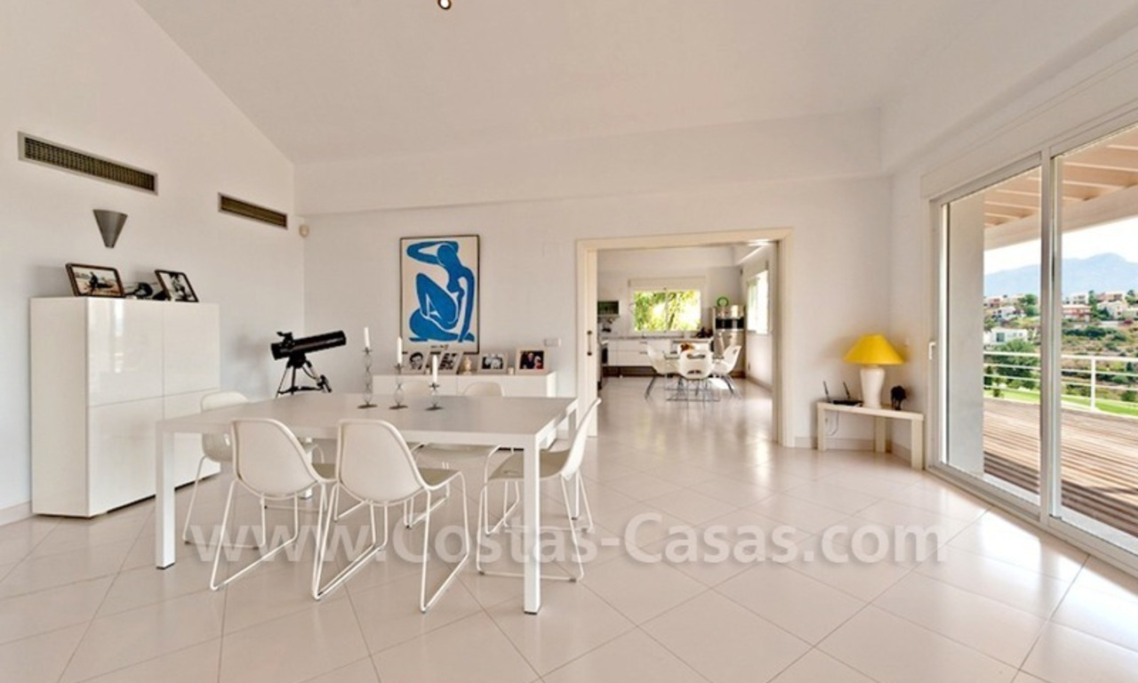 Front line golf villa for sale, Marbella - Benahavis 10