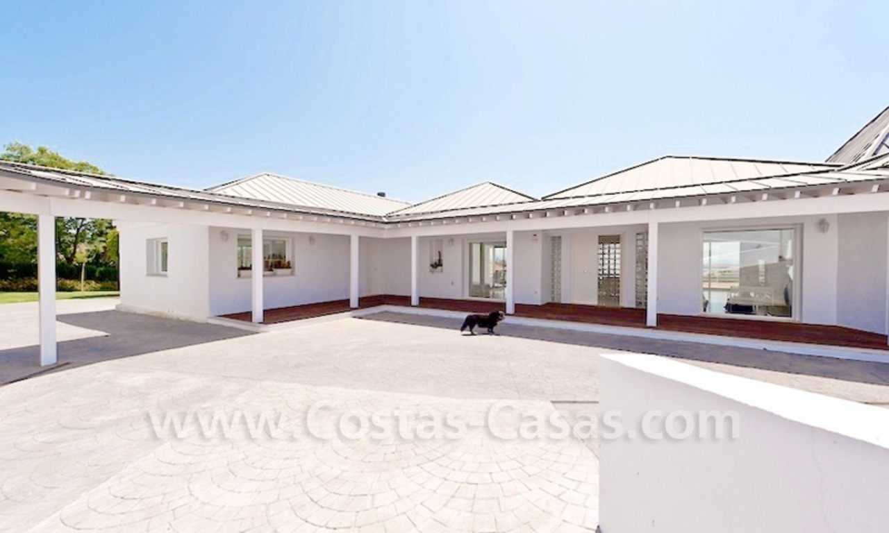 Front line golf villa for sale, Marbella - Benahavis 7