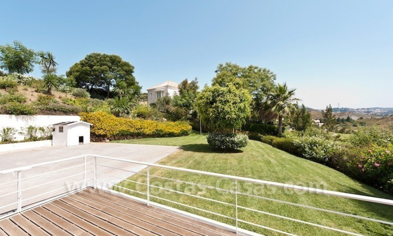 Front line golf villa for sale, Marbella - Benahavis 5