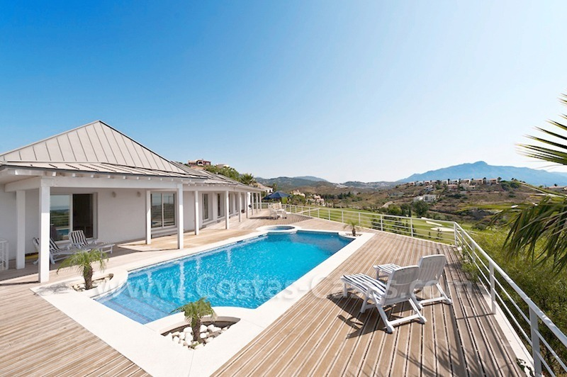 Front line golf villa for sale, Marbella - Benahavis
