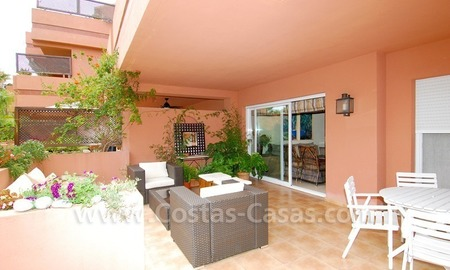 Spacious beachside luxury apartment for sale in Nueva Andalucía very near to Puerto Banús in Marbella 2