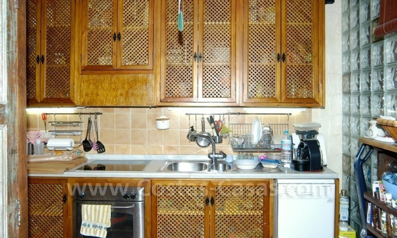 Bargain golf town-house to buy in an up-market area of Nueva Andalucía, Marbella 12