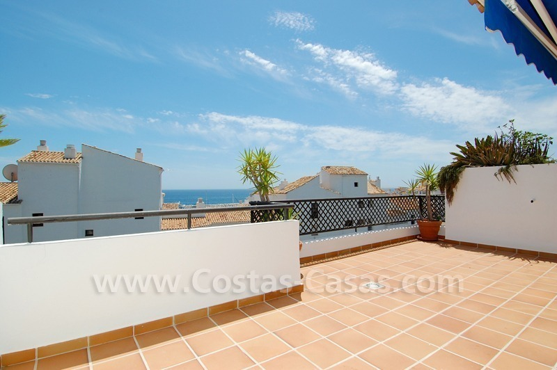 Penthouse apartment for sale in Puerto Banus, Marbella