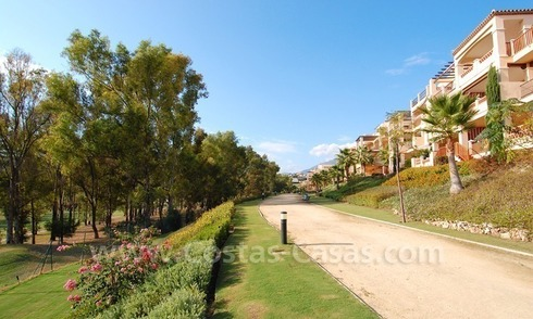 Bargain Luxury frontline golf apartments to buy Marbella – Benahavis