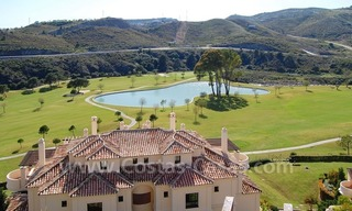 Luxury first line golf apartments to buy in the area of Marbella – Benahavis 1