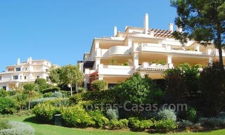 Luxury first line golf apartments to buy in the area of Marbella – Benahavis 23