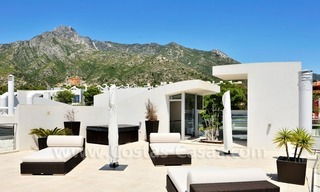 Contemporary style luxury houses for sale on the Golden Mile in Marbella 2