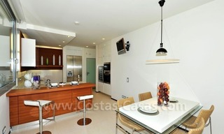 Contemporary style luxury houses for sale on the Golden Mile in Marbella 13