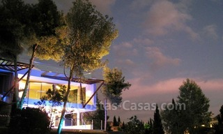 Contemporary style luxury houses for sale on the Golden Mile in Marbella 29