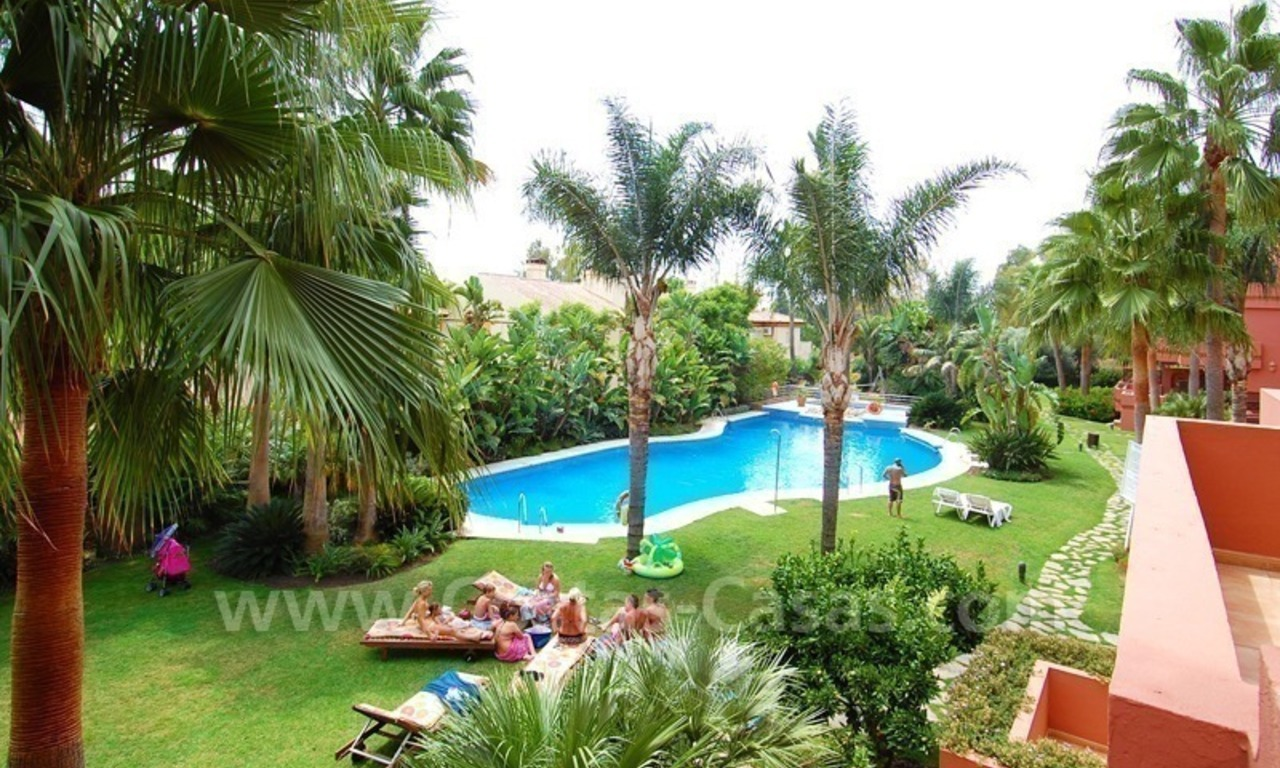 Spacious luxury apartment for sale in Nueva Andalucía very near to Puerto Banús in Marbella 1