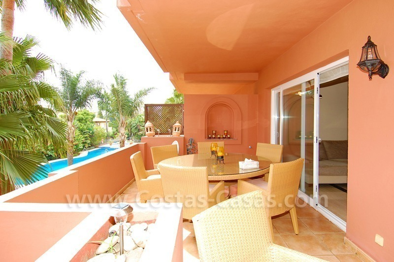 Spacious luxury apartment for sale in Nueva Andalucía very near to Puerto Banús in Marbella 0