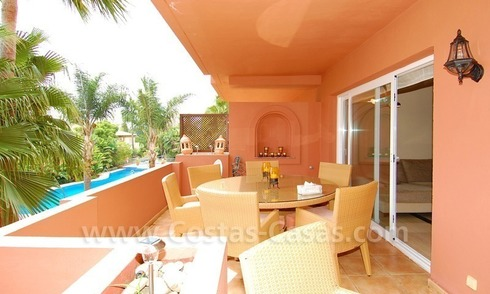 Spacious luxury apartment for sale in Nueva Andalucía very near to Puerto Banús in Marbella