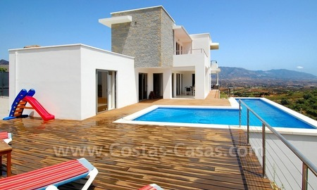 Modern villa for sale in Marbella 1