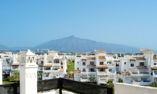Spacious duplex penthouse apartment to buy on the beachfront complex in Marbella 1