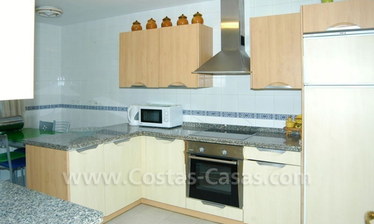 Spacious apartment for sale on the beachfront complex in Marbella. 12