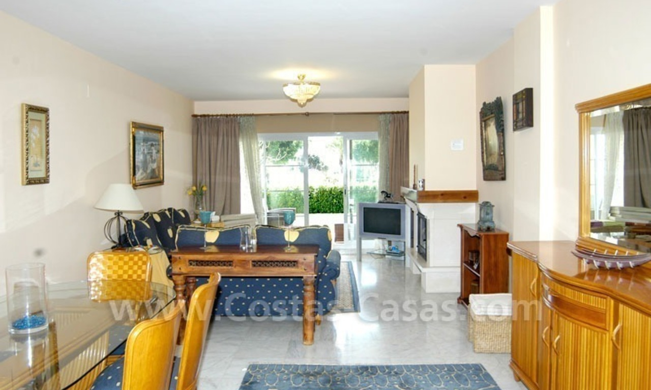 Spacious apartment for sale on the beachfront complex in Marbella. 11