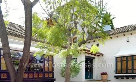 Exclusive front line golf Bali styled villa for sale in Nueva Andalucía, Marbella 13