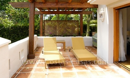 Exclusive front line golf Bali styled villa for sale in Nueva Andalucía, Marbella 9
