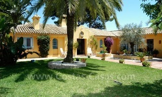 Rustic styled villa with paddock and stables for sale in Marbella at the Costa del Sol 0