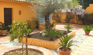 Rustic styled villa with paddock and stables for sale in Marbella at the Costa del Sol 1