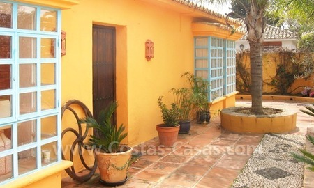 Rustic styled villa with paddock and stables for sale in Marbella at the Costa del Sol 3