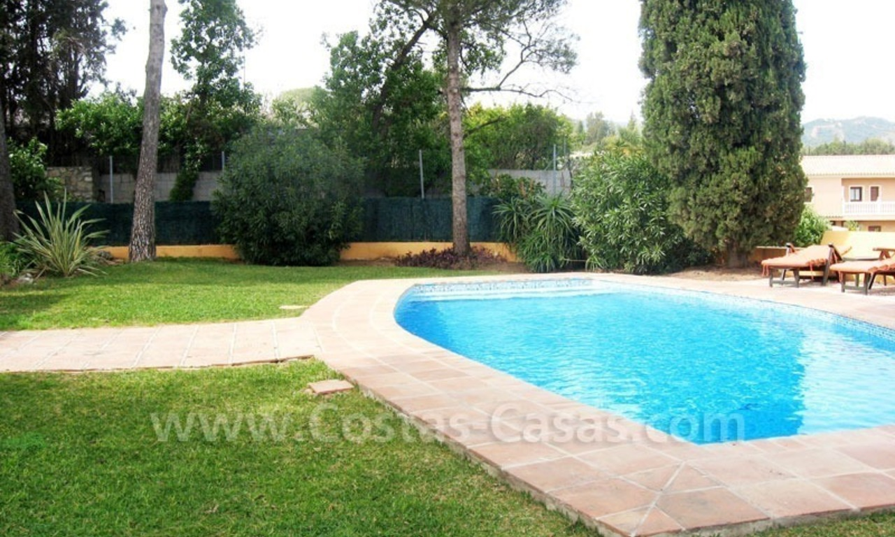 Rustic styled villa with paddock and stables for sale in Marbella at the Costa del Sol 11